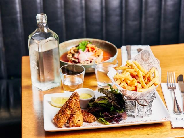 Loui's Corner Nuggets de Colin « Fish & Chips »